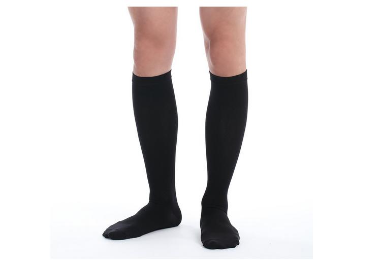 Men's Comfy Travel and Dress Compression Socks