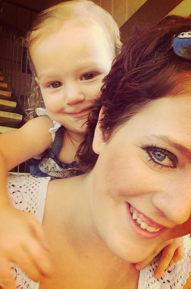 My daughter and I enjoying a day in the sun - Lyndsey Hubbell