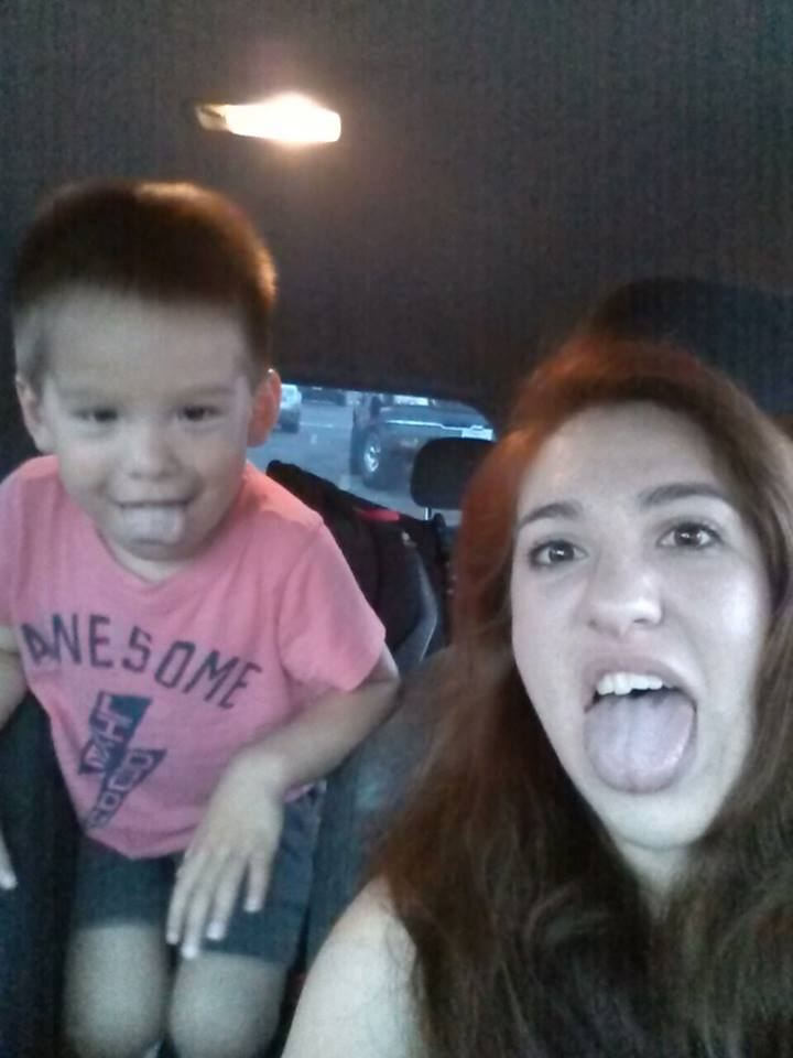 My son and I. Pretty much sums up our relationship. I hope it stays this silly forever. - Crystal Scott Tenorio