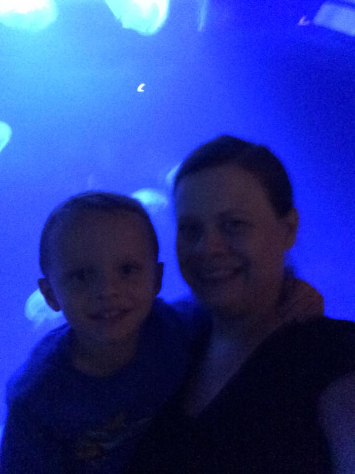 At the zoo with my little guy. - Libbie Krussow