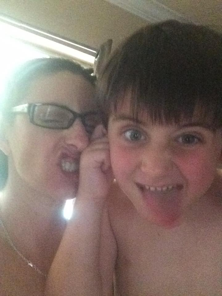 Being silly on a rainy day. - Cindy Condit