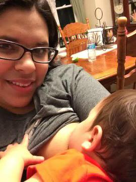 On my 3rd kid is when I was able to breastfeed without a cover, anywhere. It helps when you see other women doing it - Sandra Escalera
