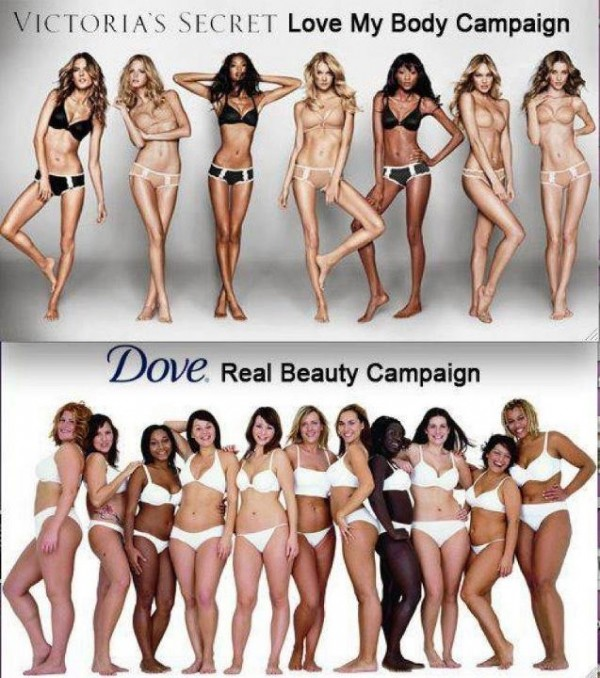 dove real beauty campagn