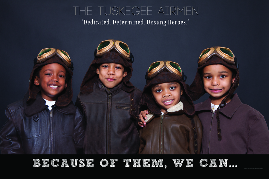 powerful images of children posing as black history icons
