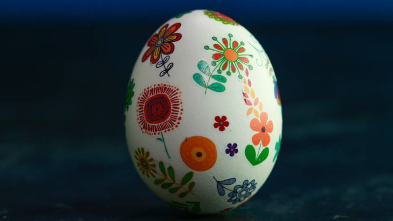 Decorative easter egg tattoos and a 100 visa gift card from fiora egg4 negle Images