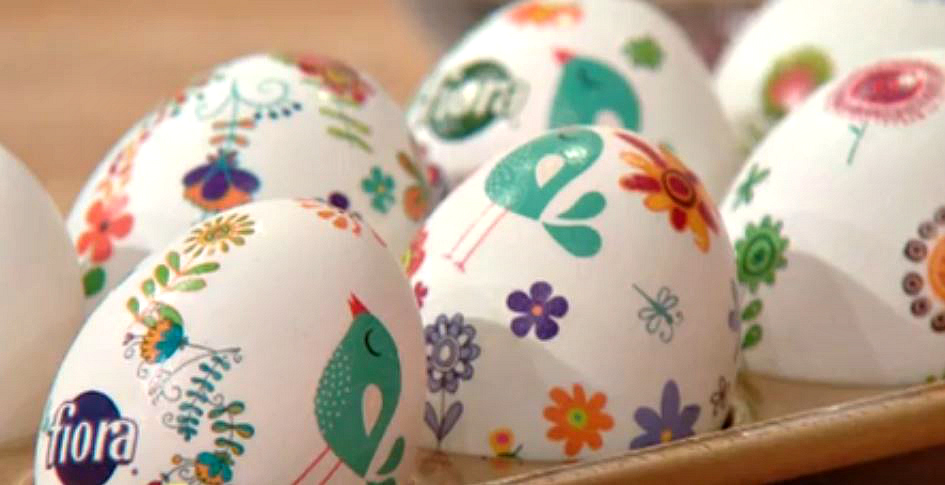 Decorative easter egg tattoos and a 100 visa gift card from fiora fioraegg3 negle Images