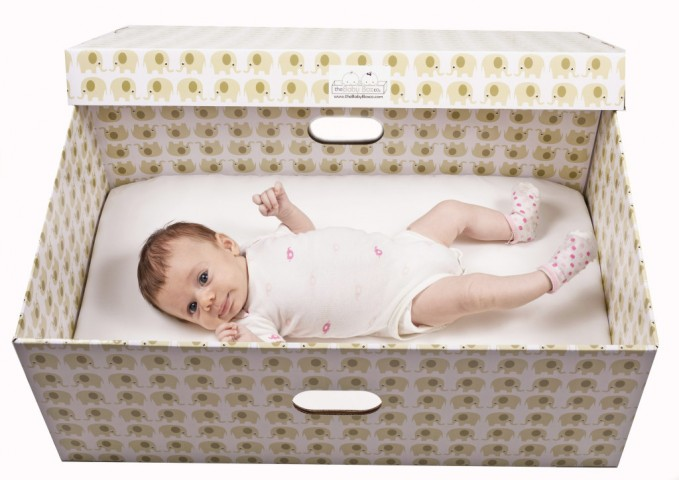Finnish style baby boxes are coming to North America
