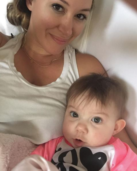 Haylie Duff puts postpartum weight loss in perspective and ...